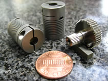 MILCO Wire EDM produces a wide variety of couplings, coup-links, splines, drive gears, housings, assemblies, blocks, tools, gears, cams, punches and inserts
